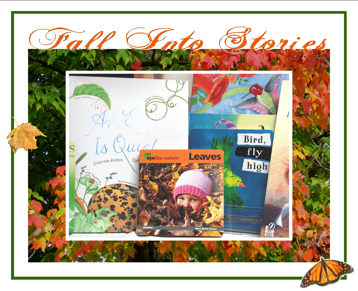 Fall Into Stories: Story time at the Birds of Vermont Museum