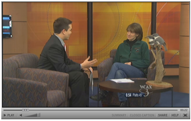 WCAX interviews Executive Director Erin Talmage, 17 May 2011