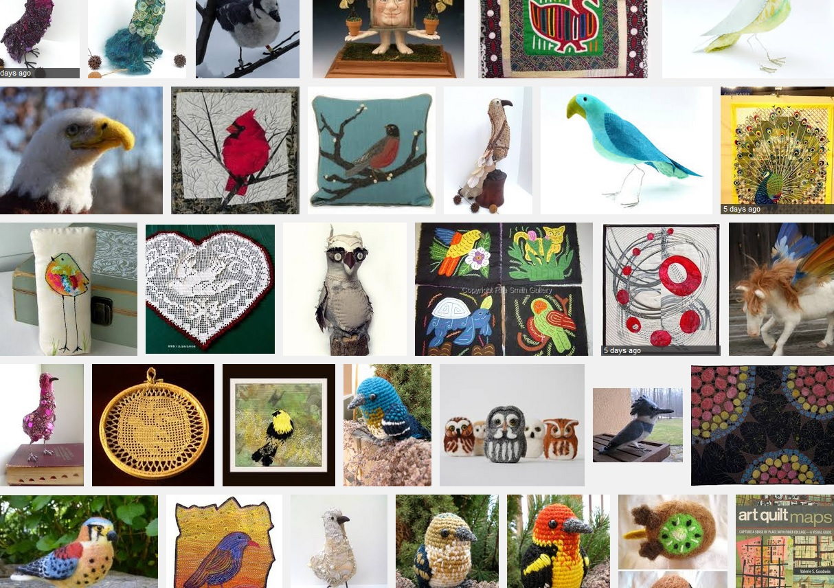 Another quick image search for fiber birds