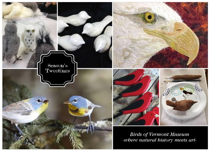 Season's Tweetings from the Birds of Vermont Museum 2015