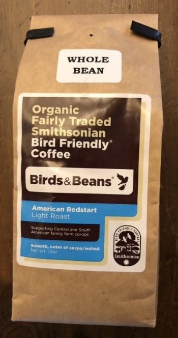 Birds and Beans Coffee: American Redstart (light roast)