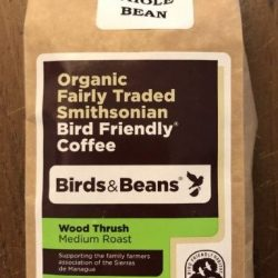 Birds and Beans Coffee: Wood Thrush (medium roast)